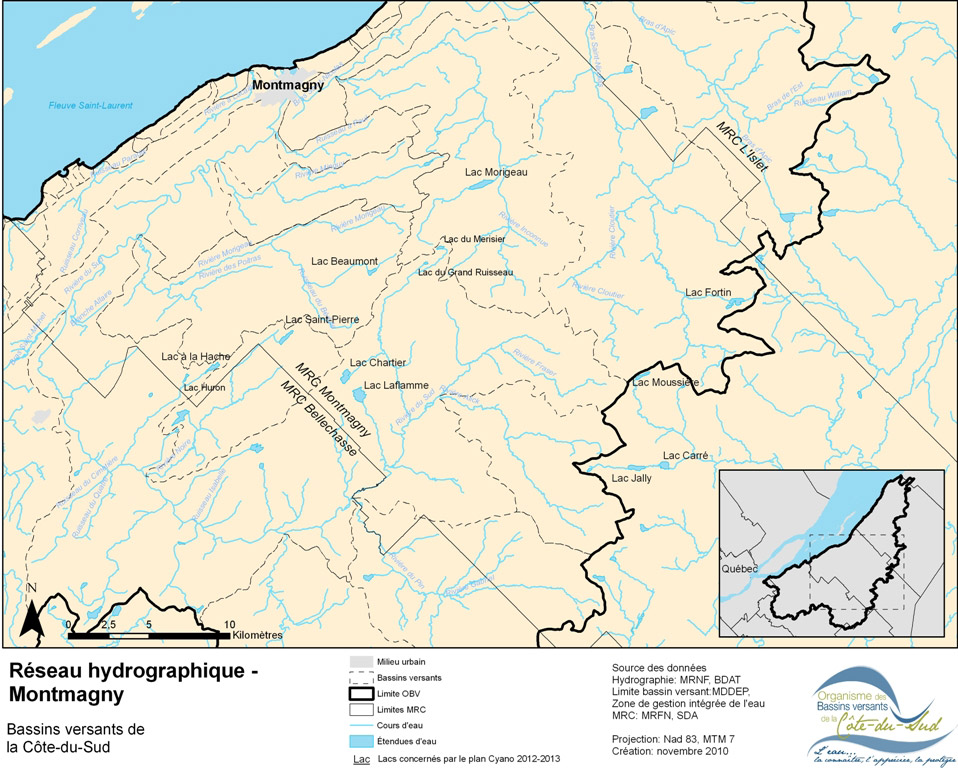 Lacs Montmagny